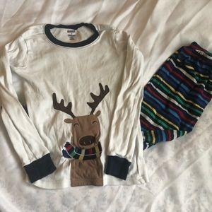 Gymboree Christmas Pajama Set